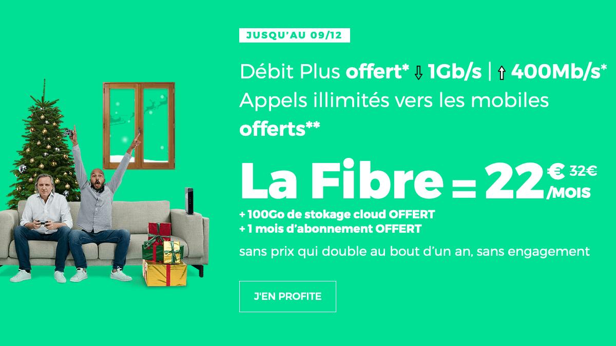 Fibre optique pas chère promo RED by SFR.