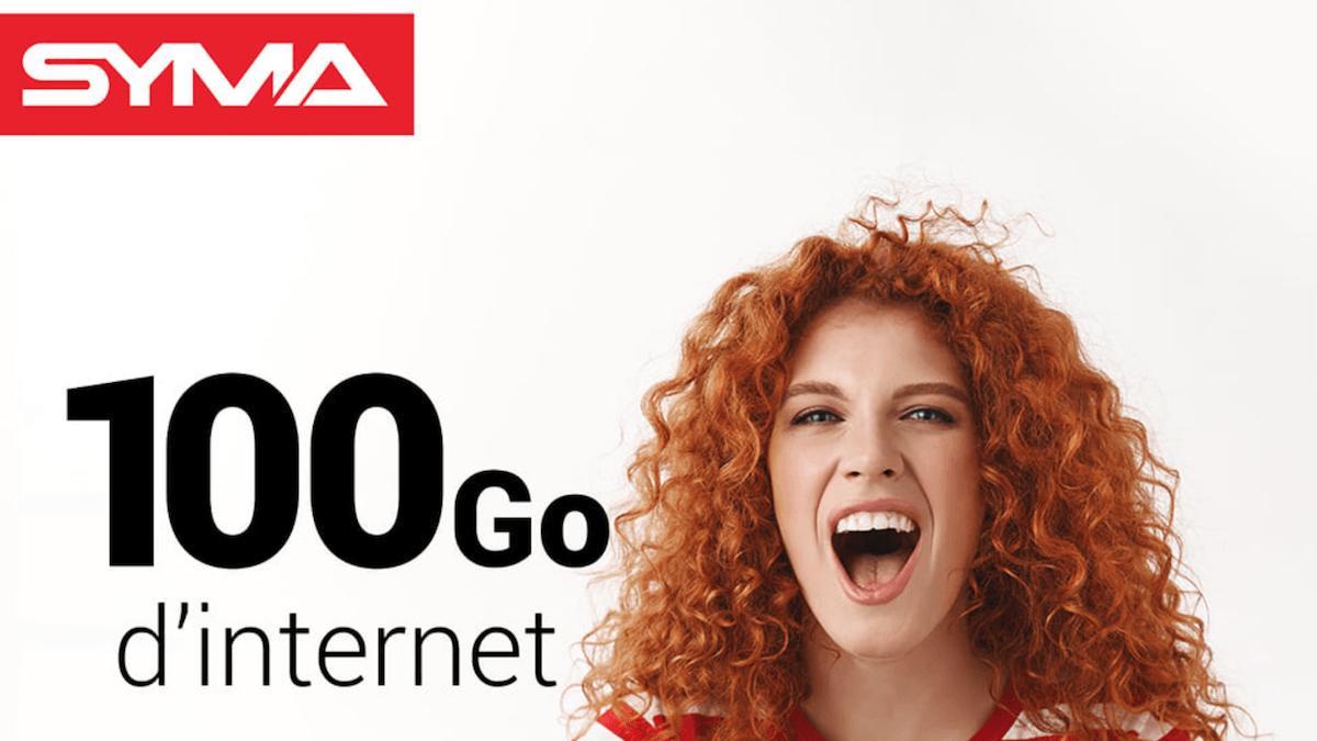 100 Go de data à 19,90€/mois avec le dernier forfait 4G de Syma Mobile