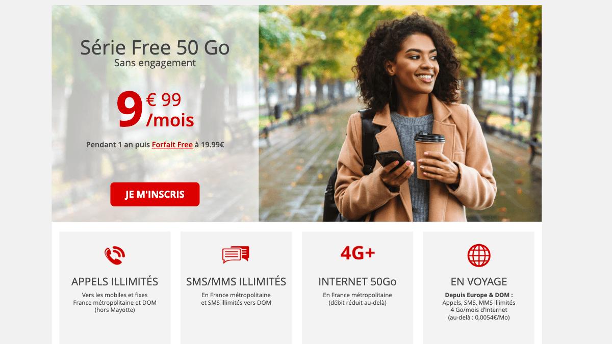 Prolongation de la série spéciale Free mobile