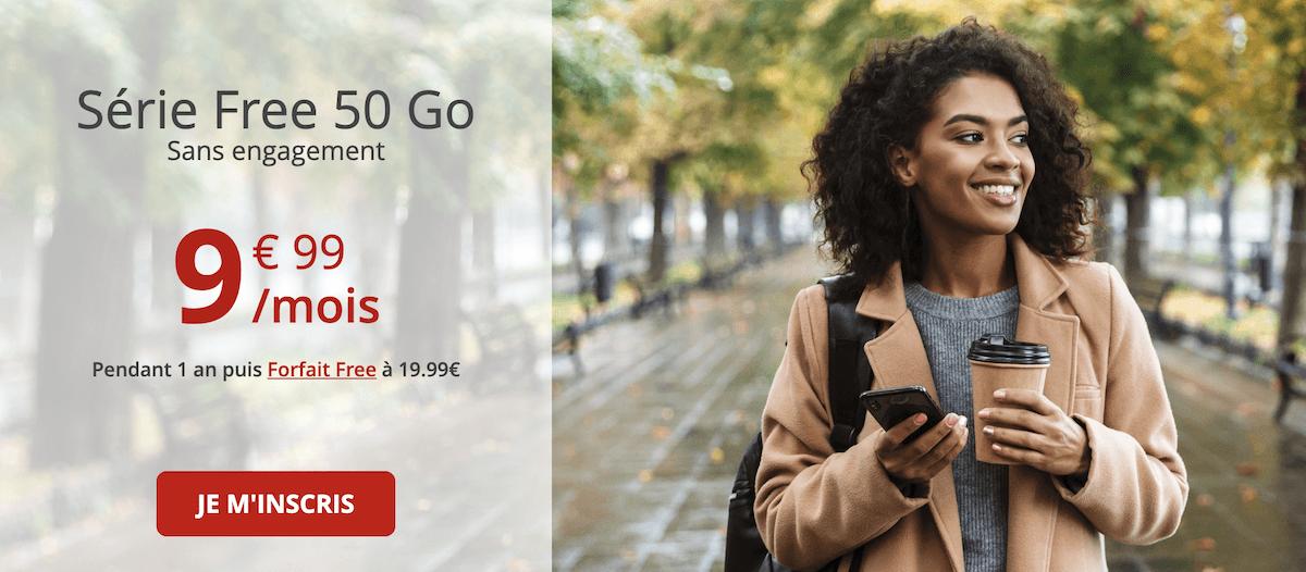 Que comprend le forfait en promo disponible chez Free mobile ?