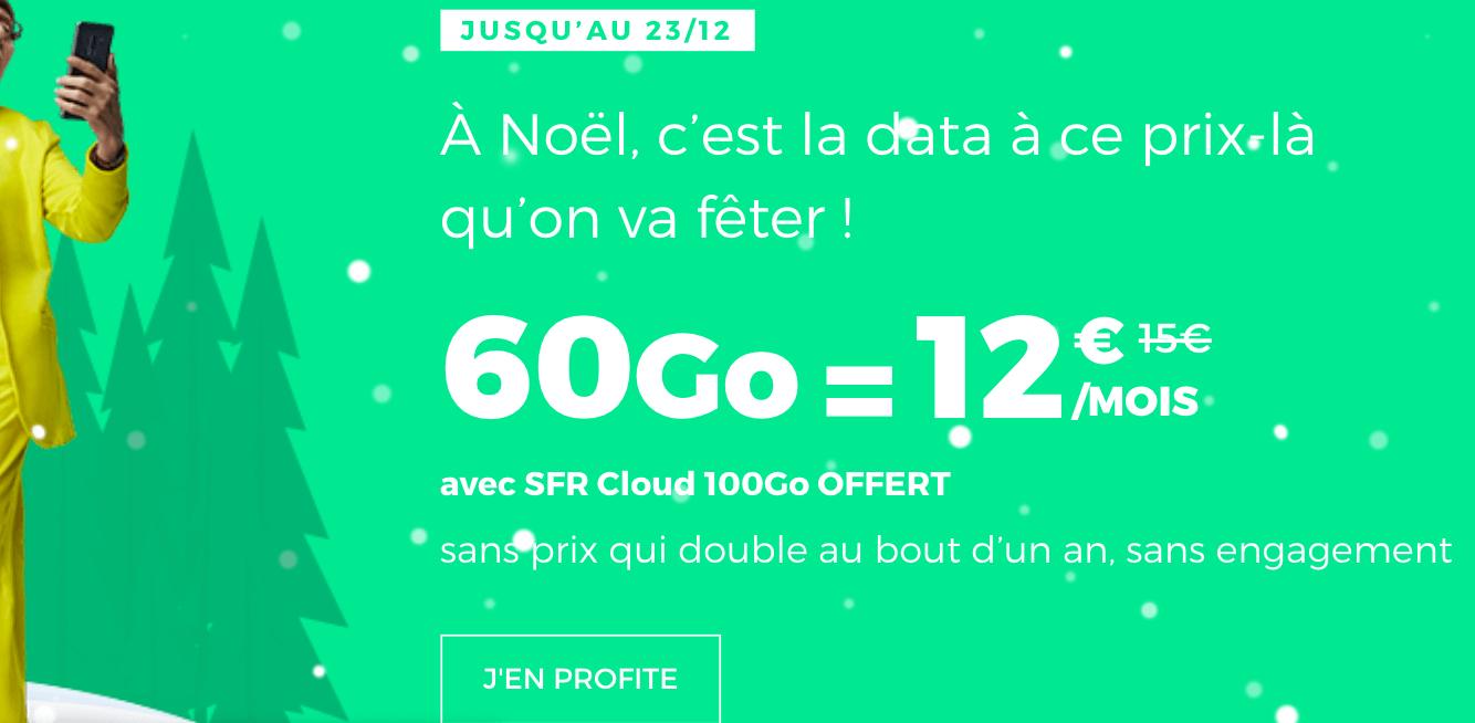 L'offre promotionnelle de RED by SFR pour un forfait 4G à prix réduit