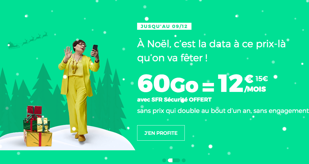 Le forfaot Noel de RED by SFR