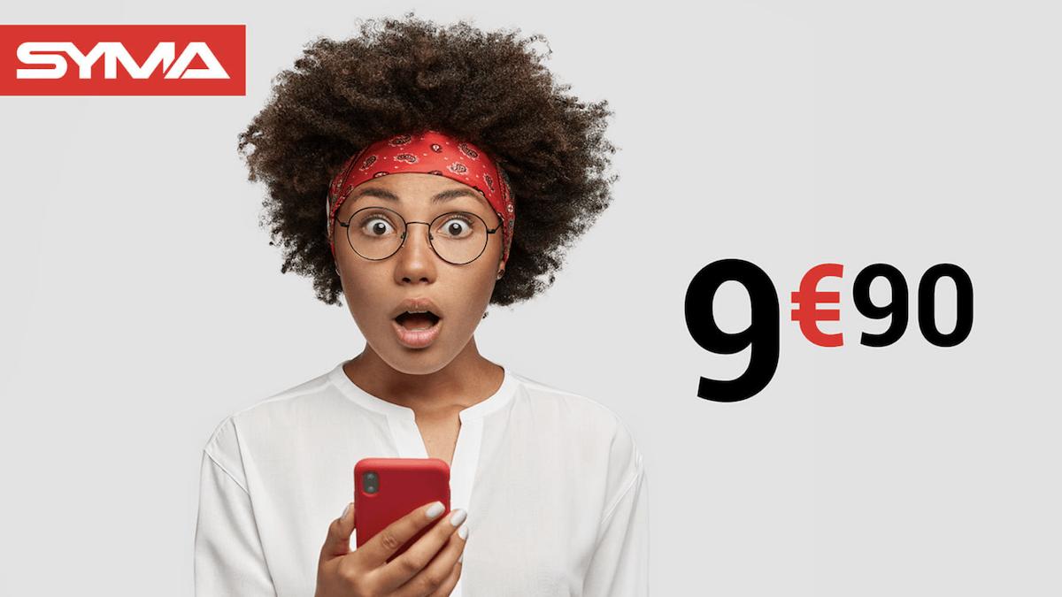 Le forfait 40 Go de Syma Mobile disponible à petit prix