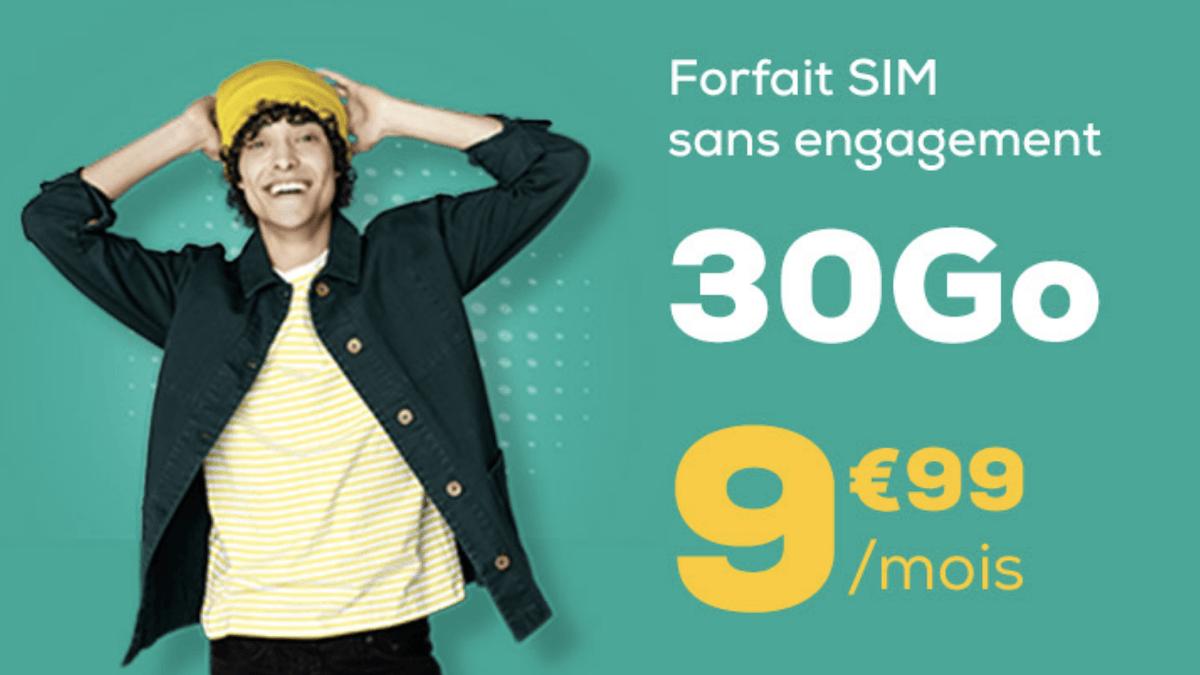 L'offre attractive de La Poste Mobile pour un forfait pas cher