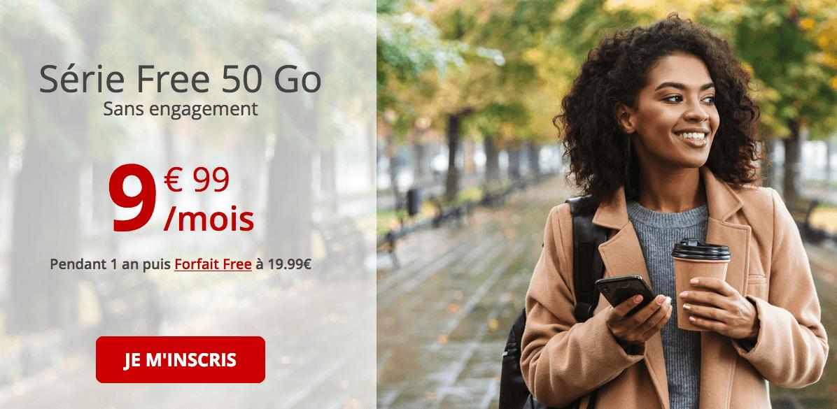 forfait mobile en promotion de Free