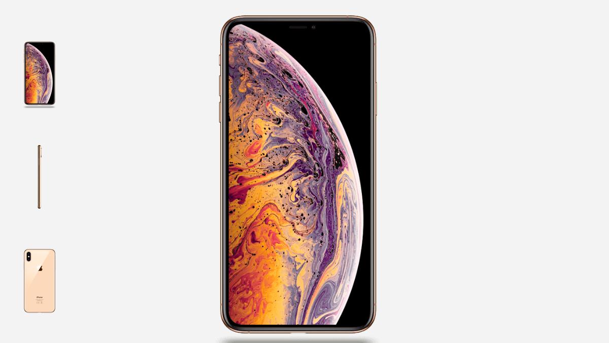 L' iPhone Xs, un smartphone haut de gamme signé Apple.