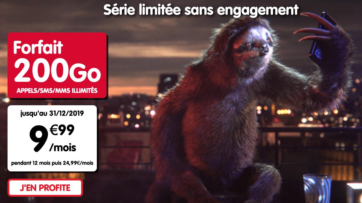 Promo forfait 100 go nrj mobile