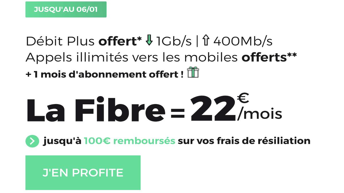 L'offre fixe de RED by SFR pour une box fibre à 22€/mois