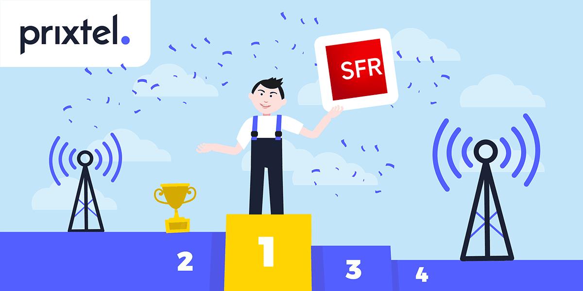 Réseau mobile SFR Prixtel