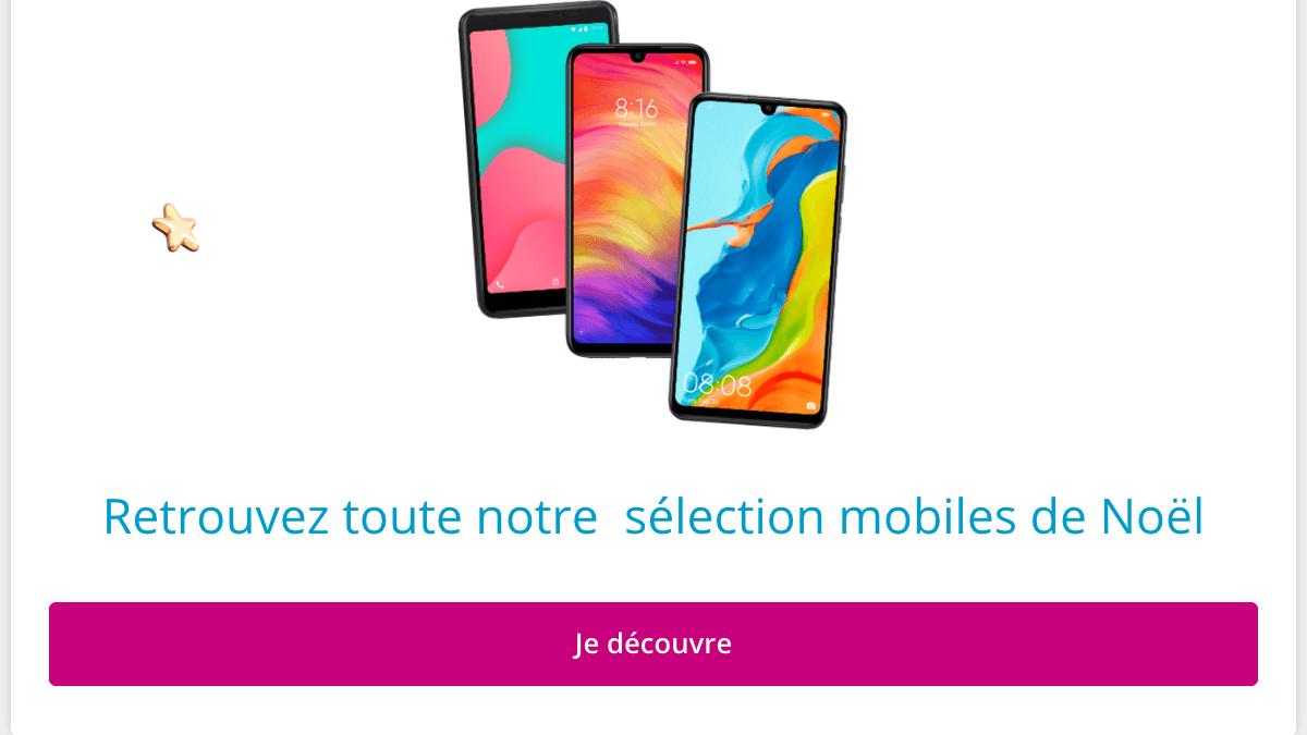 Téléphones portabls pas chers chez Bouygues Telecom.
