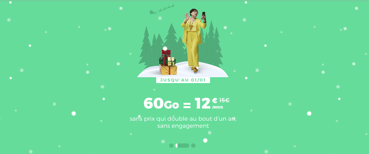 le forfait 4G de red by sfr disponible en promotion