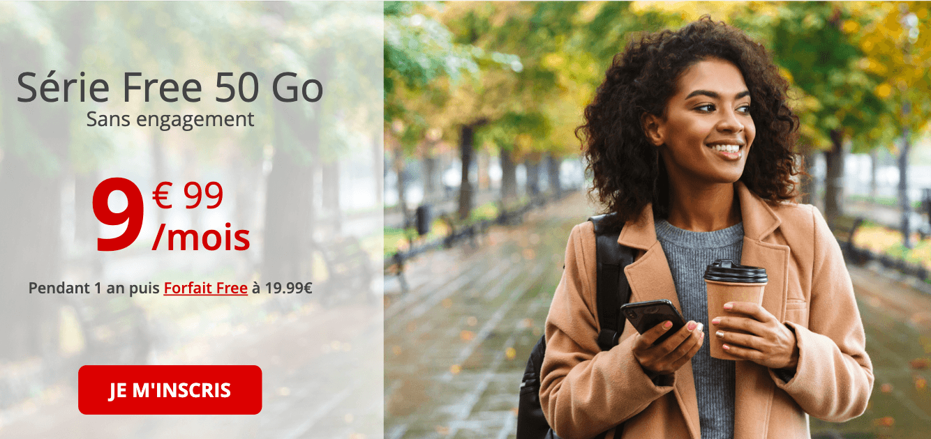 Le forfait en promo de Free mobile encore et toujours disponible