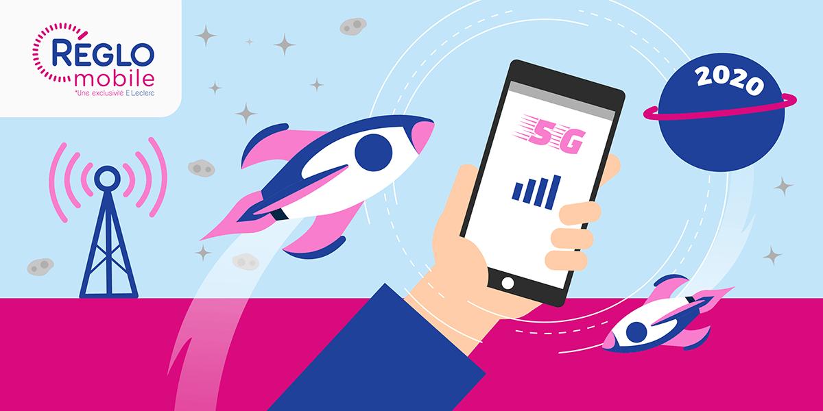 Déploiement réseau 5G France.