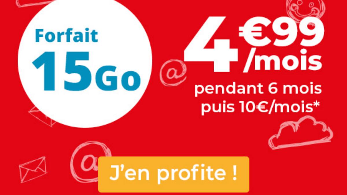 Le forfait 4G basique d'Auchan Telecom