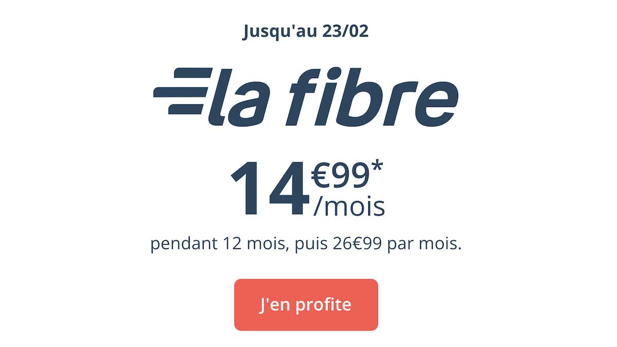 L'offre promotionelle de Bouygues Telecom pour la fibre optique