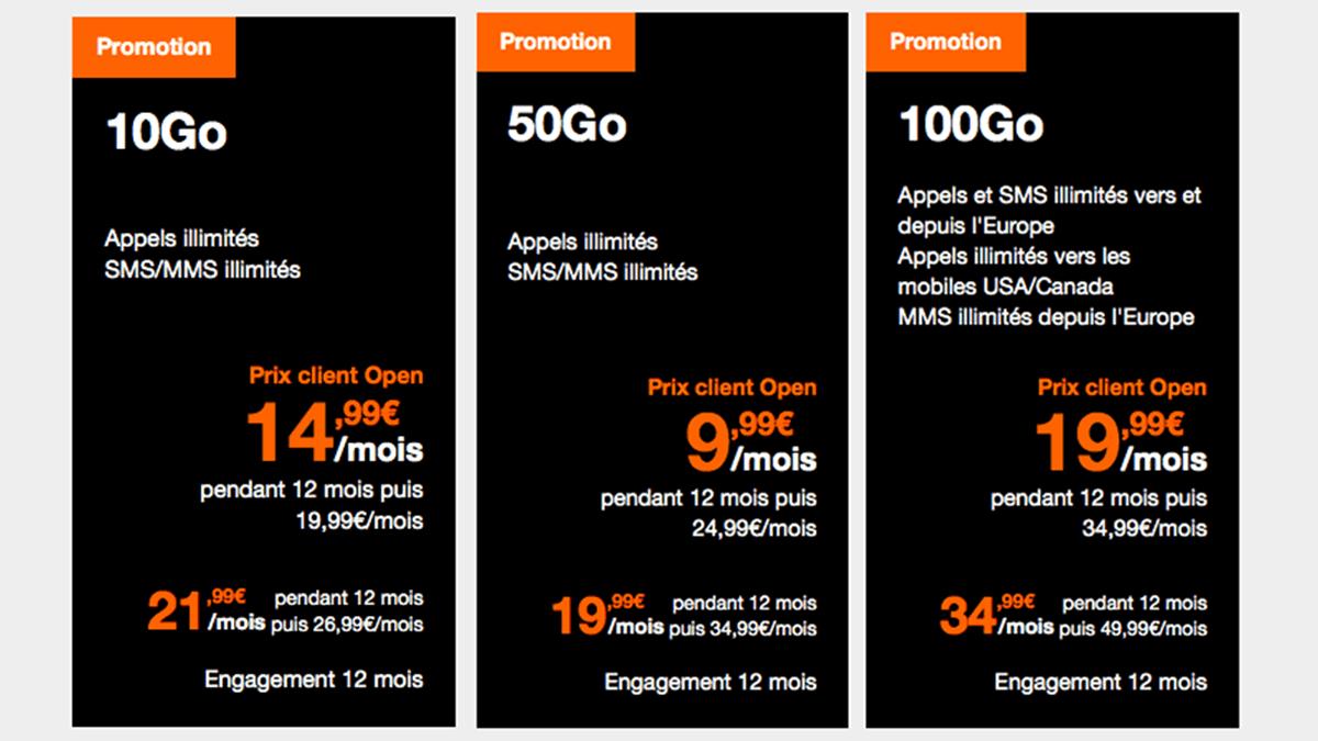 Orange : prix réduits sur forfait mobile pour ados.
