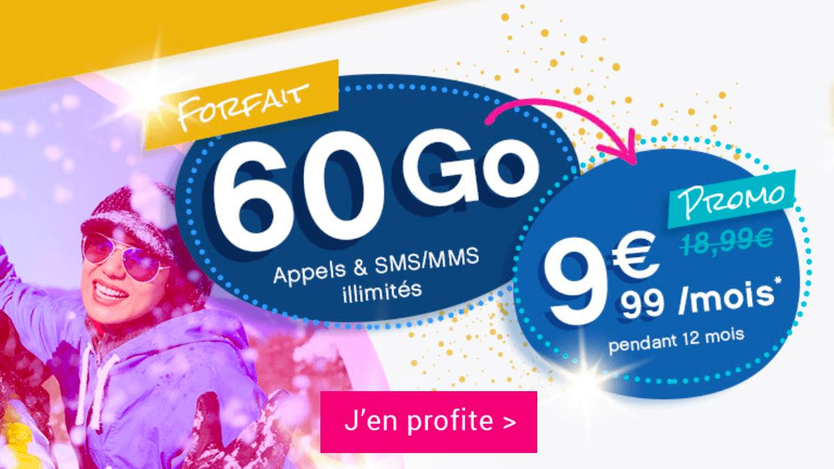 le forfait 60 Go de Coriolis