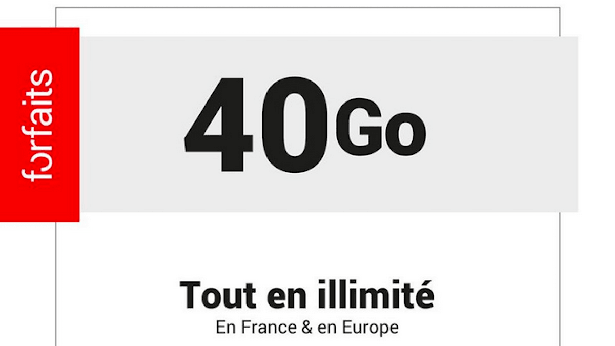 Le forfait 40 Go de Syma Mobile est à moins de 10€/mois