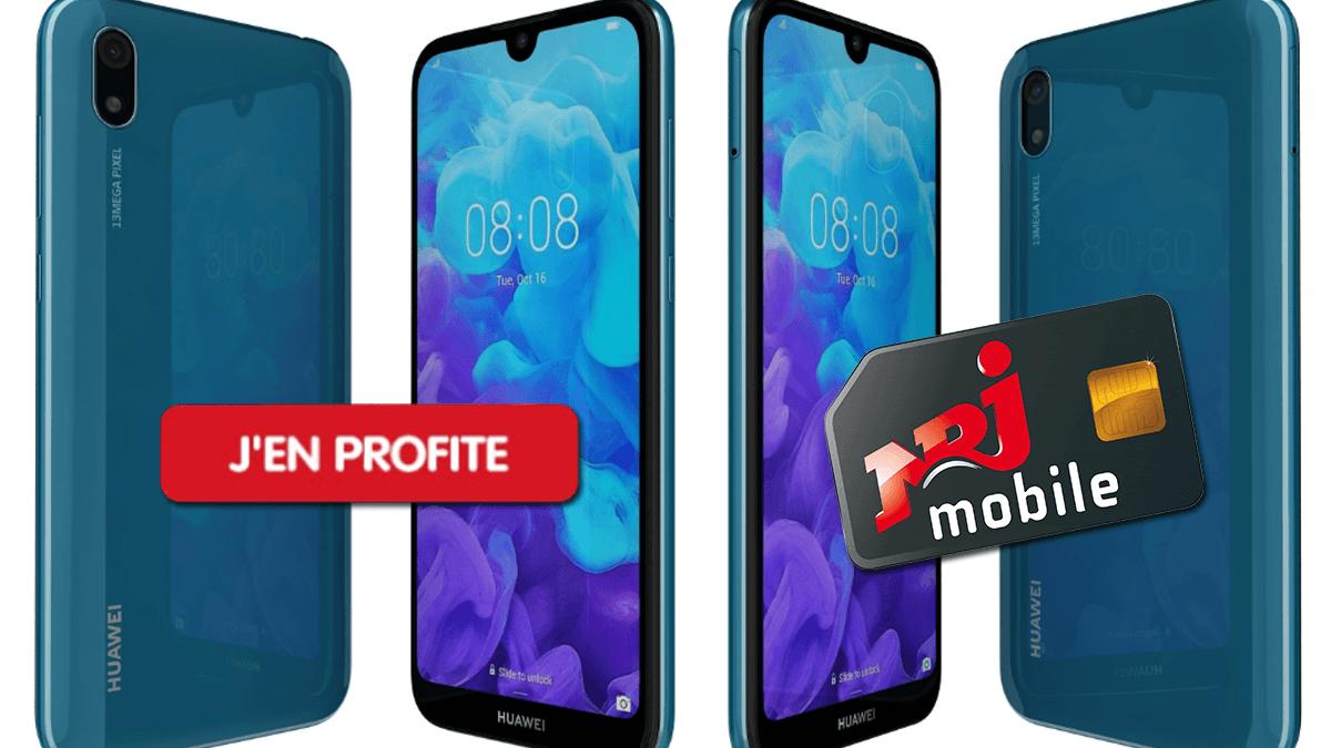 Le Huawei Y5 2019, normalement à plus de 90€, est un excellent smartphone d'entrée de gamme.
