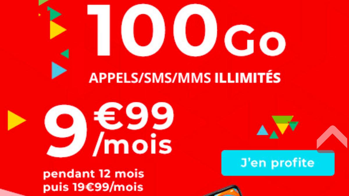 Le forfait en promo mis en avant en ce moment par Auchan Telecom