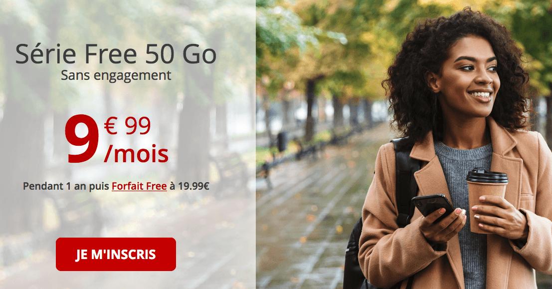 Le foprfait en promotion de Free mobile
