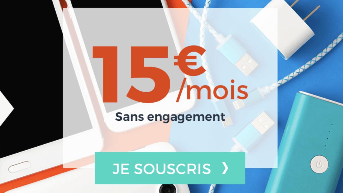 """Le forfait """"Suprême"""" de Cdiscount Mobile promet 40 Go de data pour 15€/mois"""
