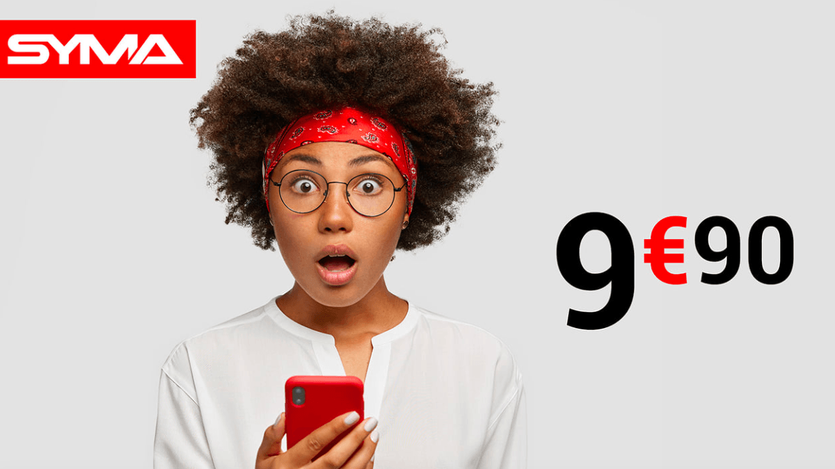 L'offre permanente de Syma Mobile pour un forfait 4G à moins de 10€