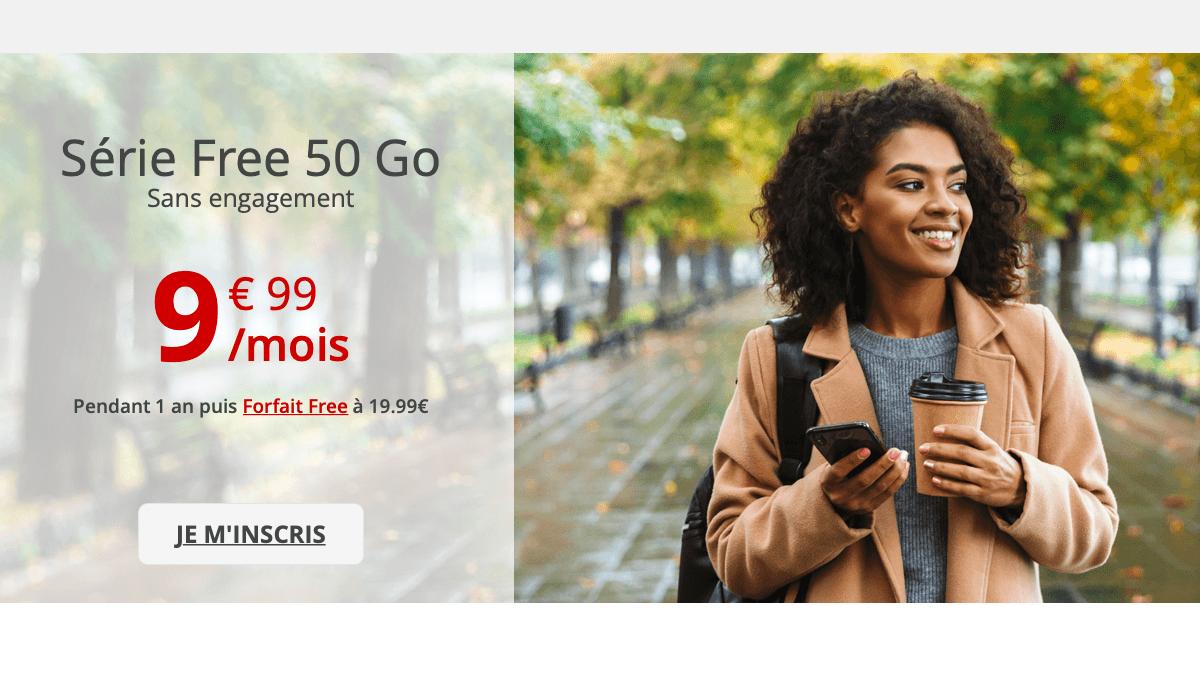 Forfait à 10€ de Free mobile