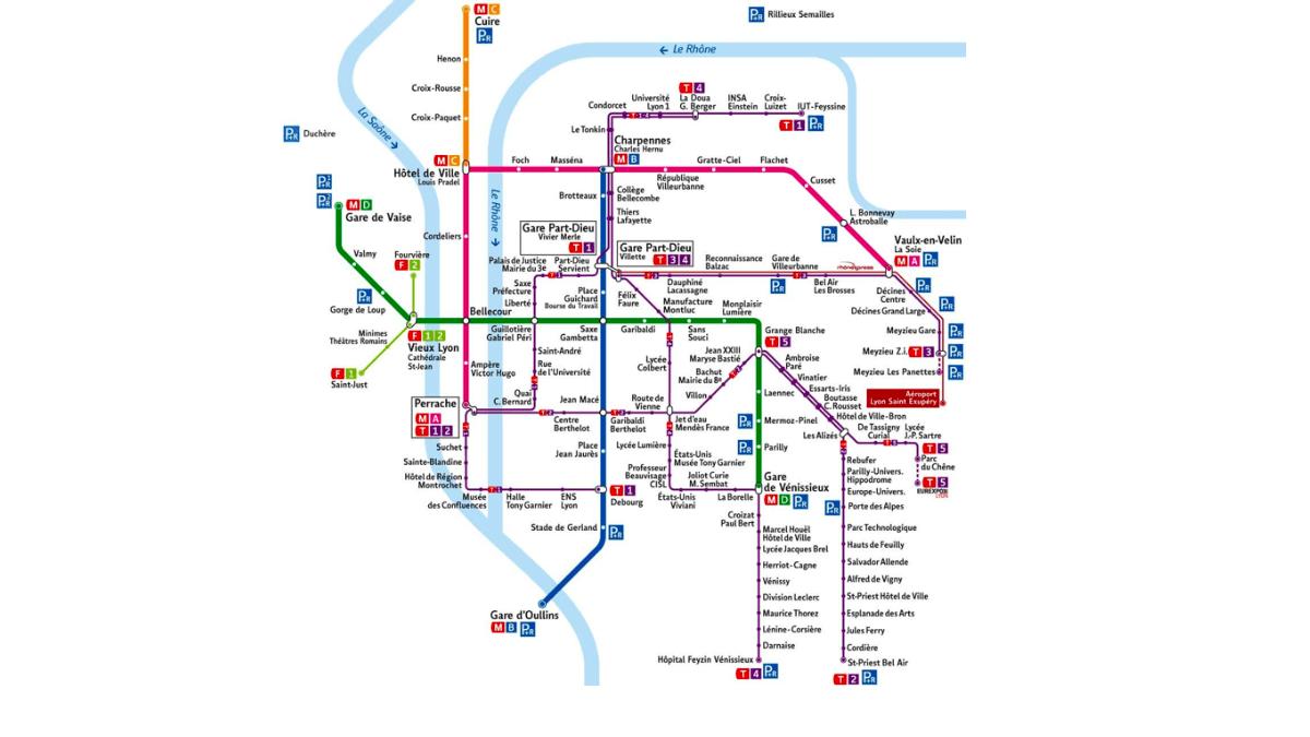 Le métro lyonnais est intégralement couvert en 4G.
