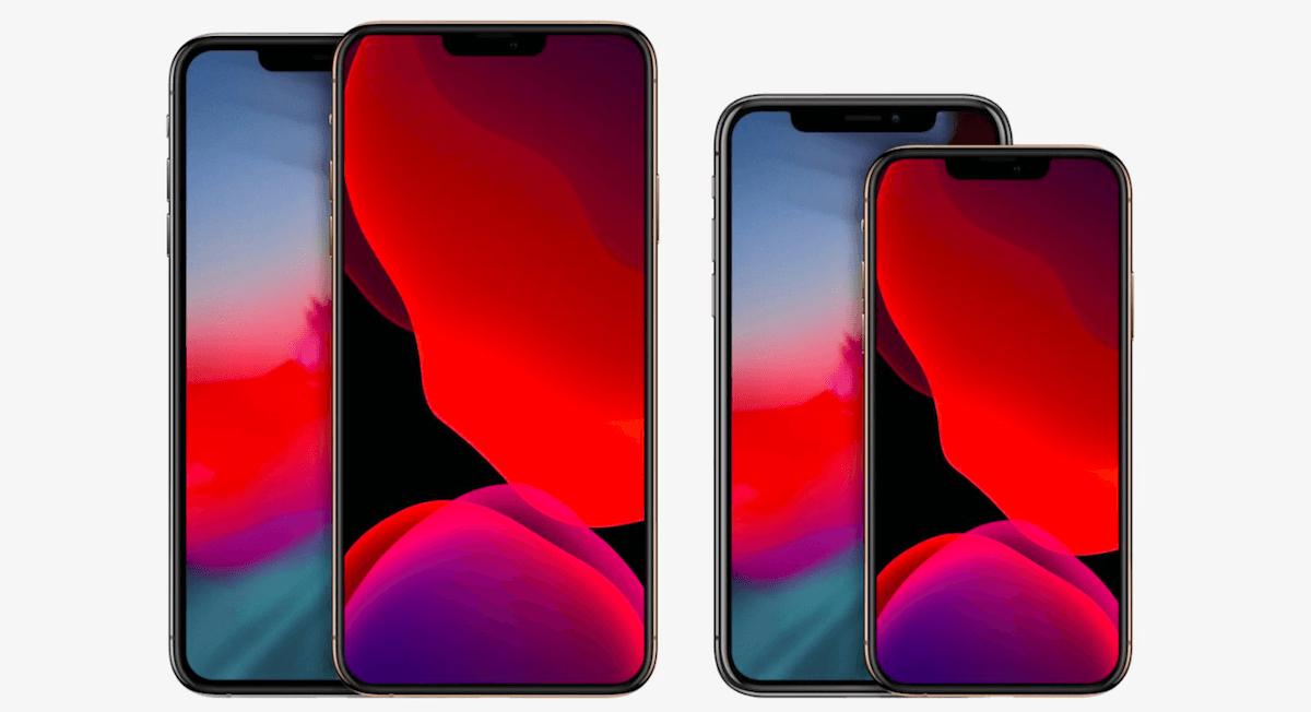 Les iPhone 12 imaginés par le designer Ben Geskin