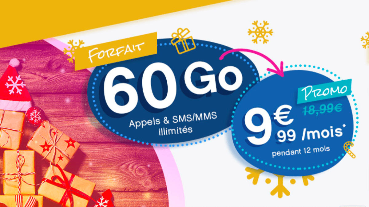 Une seconde promotion éphemère de Coriolis Telecom pour un forfait 60 Go