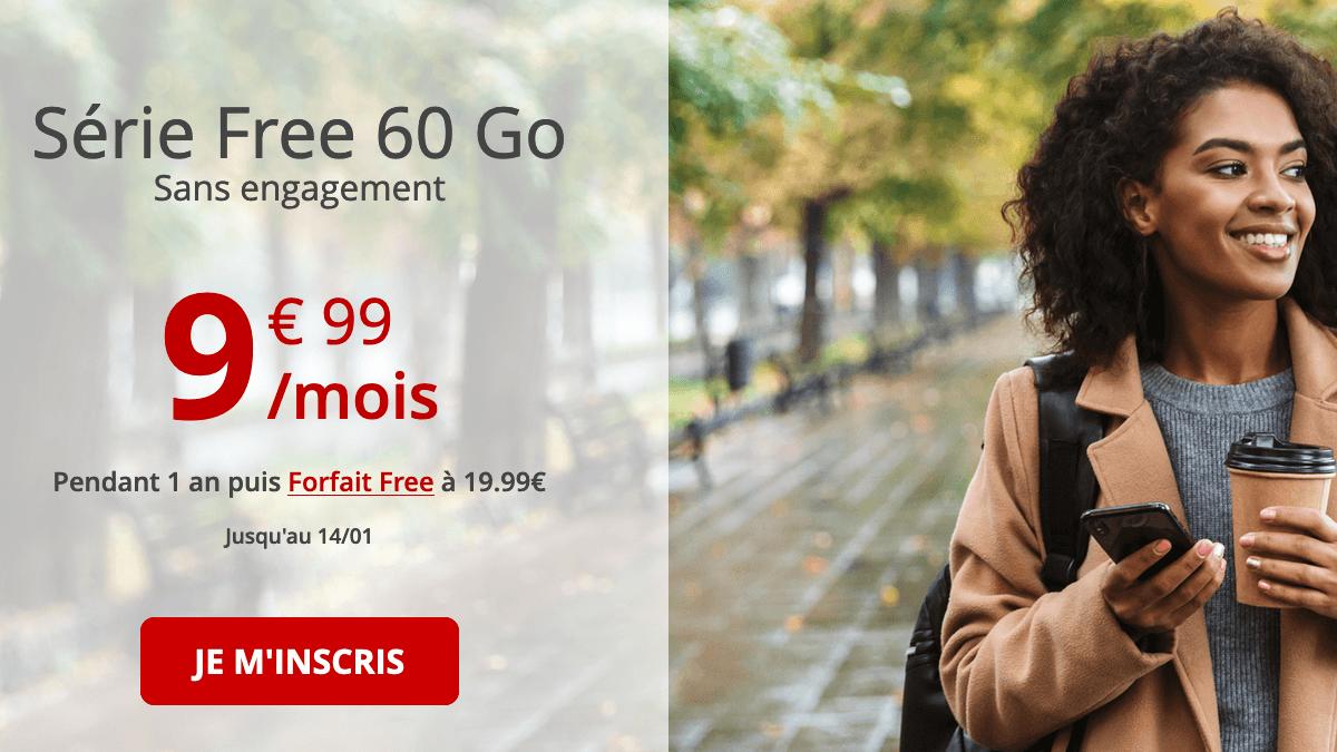 Forfait mobile 4G : les promos de Free.