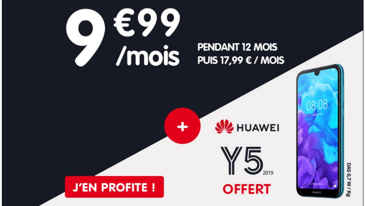 NRJ Mobile : un forfait en promo à 9,99€.