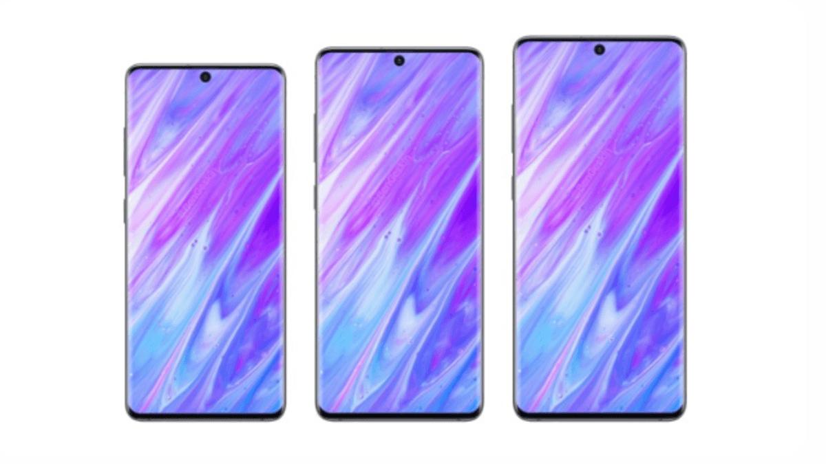 Rendu Samsung Galaxy s11