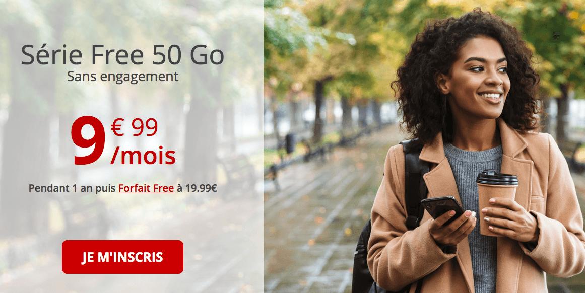 La série Free 50 Go