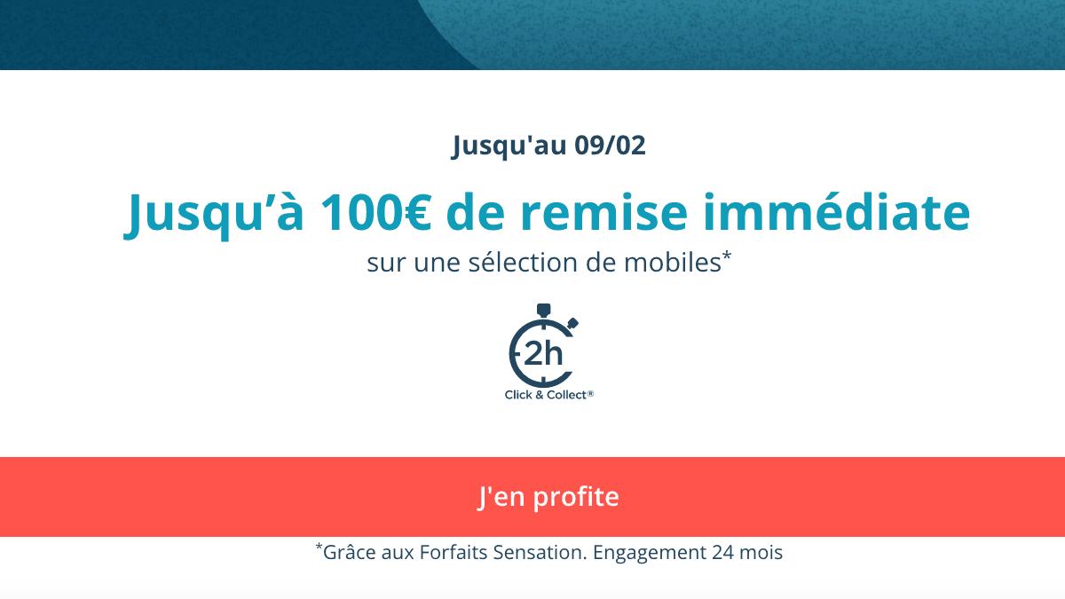 Les codes promos Bouygues Telecom avec forfaits Sensation