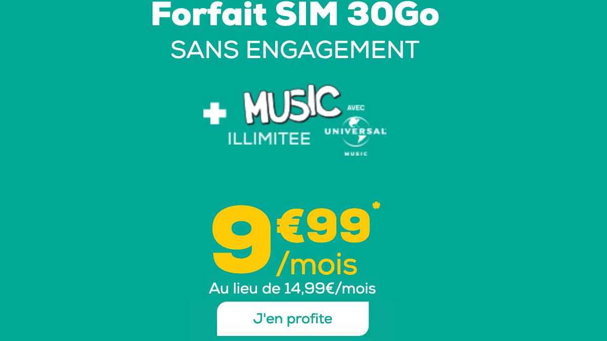 La Poste Mobile et son forfait à 10€/mois