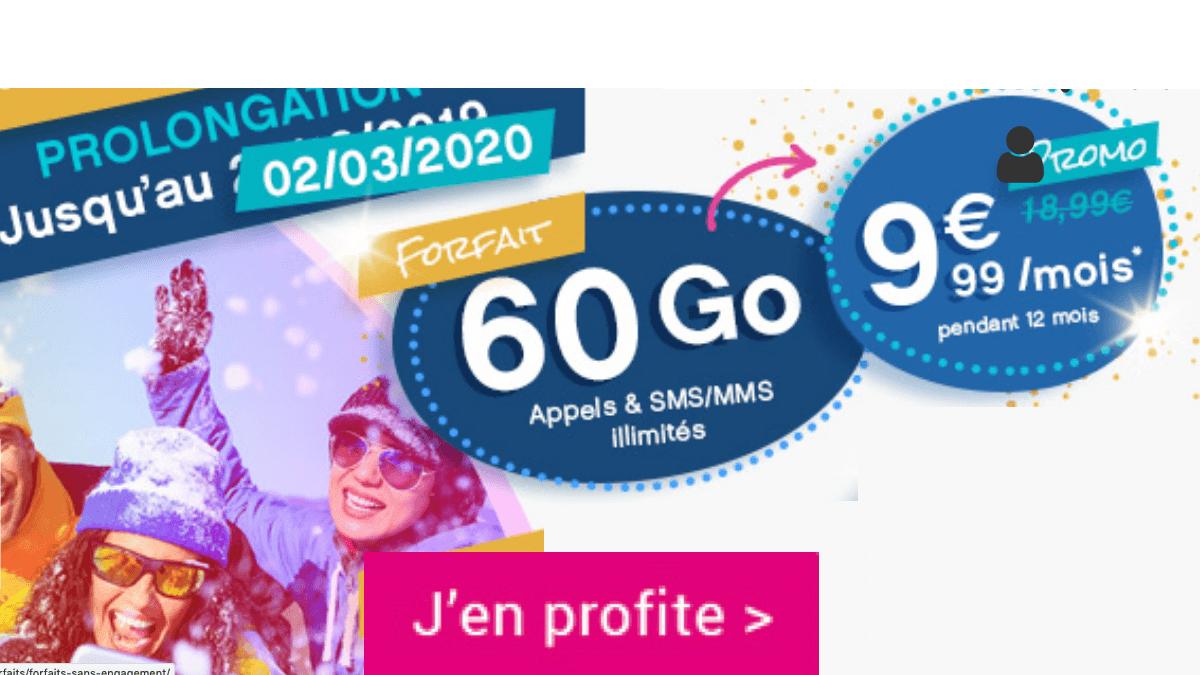Coriolis Telecom affiche un forfait 60 Go en promo qui offre 108€ d'économies