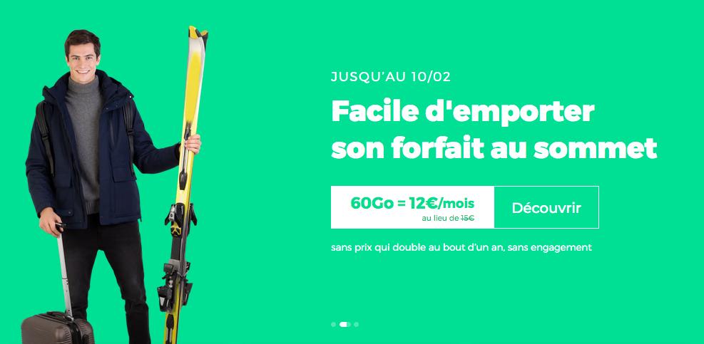 Le forfait en promo de RED by SFR