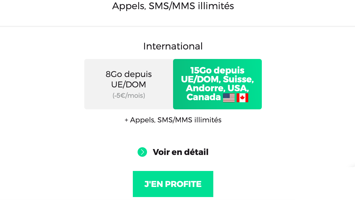 Le forfait frontalier RED by SFR avec option internationale