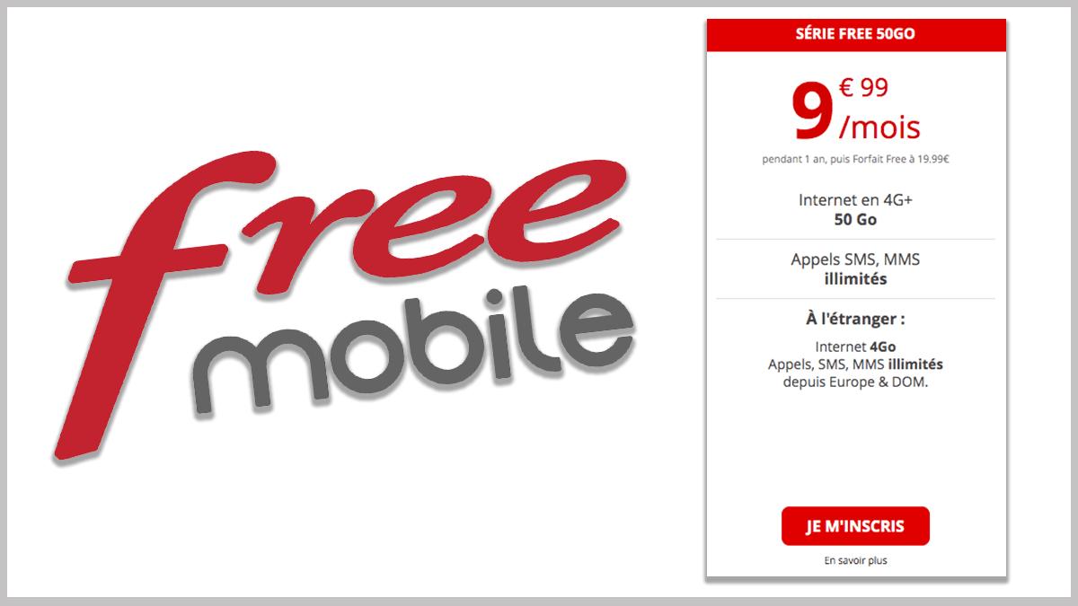 Free mobile à moins de 10€/mois.