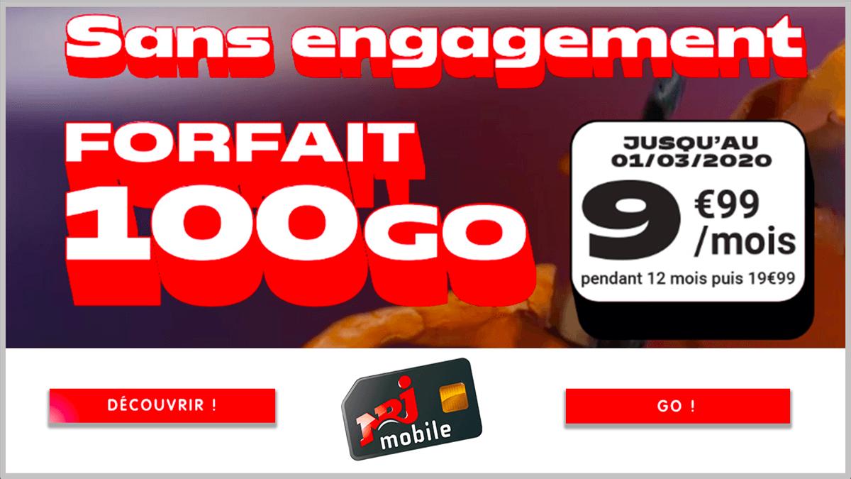 100 Go avec NRJ Mobile.
