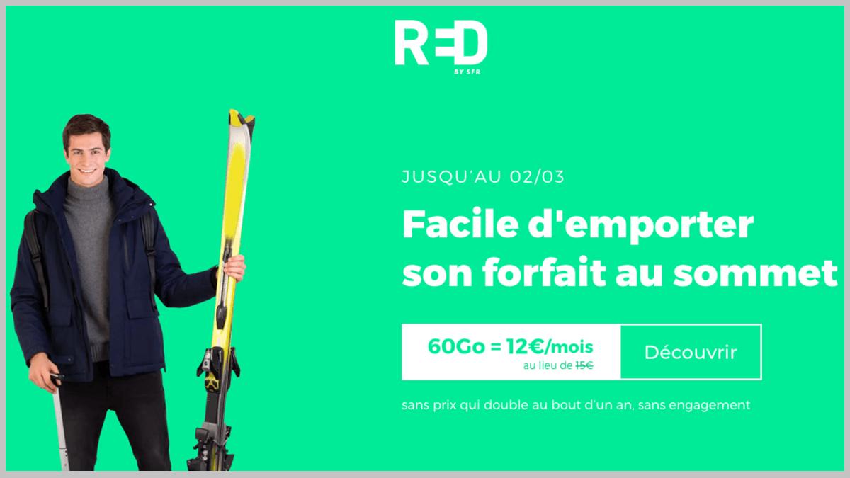 RED by SFR en promo.