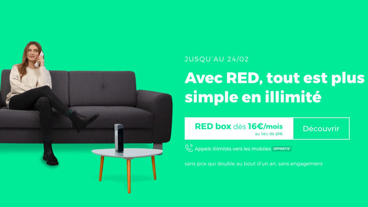 RED box avec option offerte.