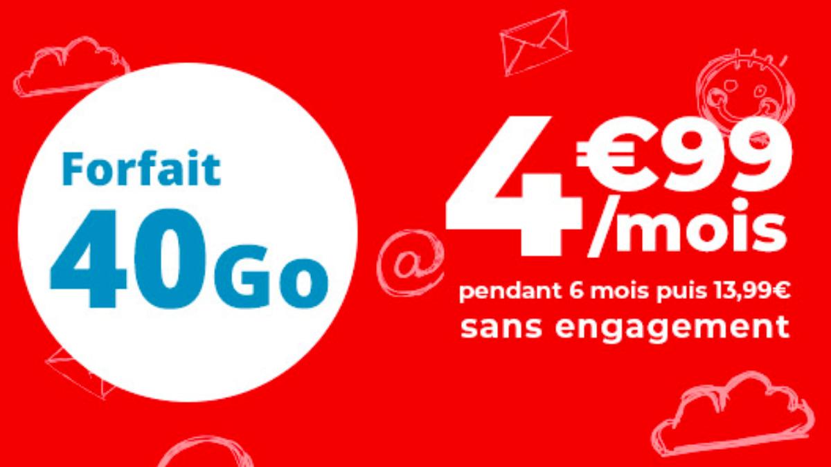 Un dernier forfait en promo disponible chez Auchan Telcom