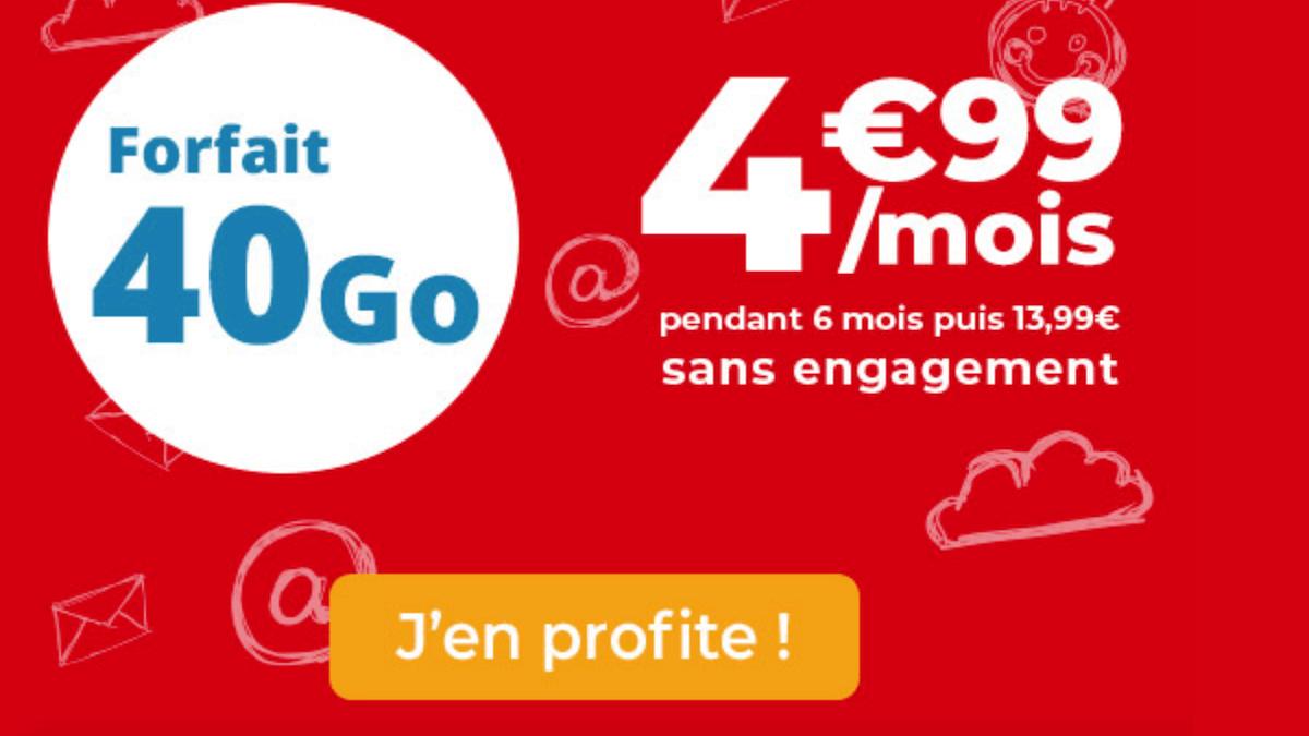 Le forfait pas cher d'Auchan Telecom est en promo cette semaine
