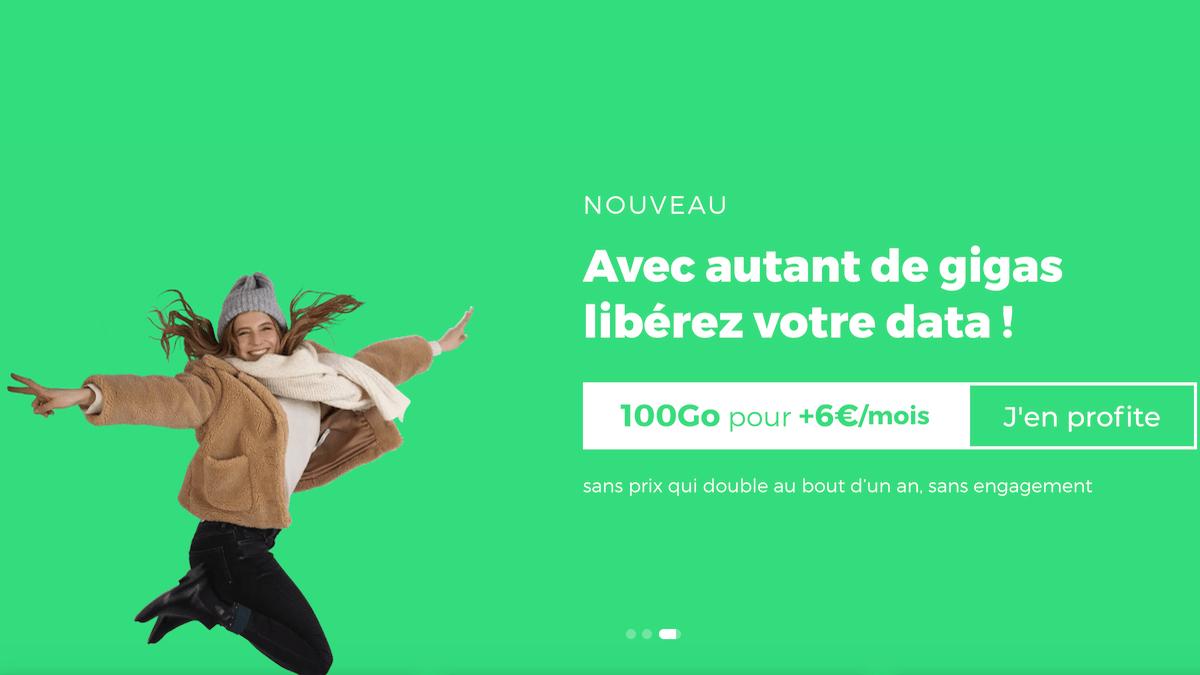 RED by SFR propose 100 Go sur son forfait en promo de la semaine