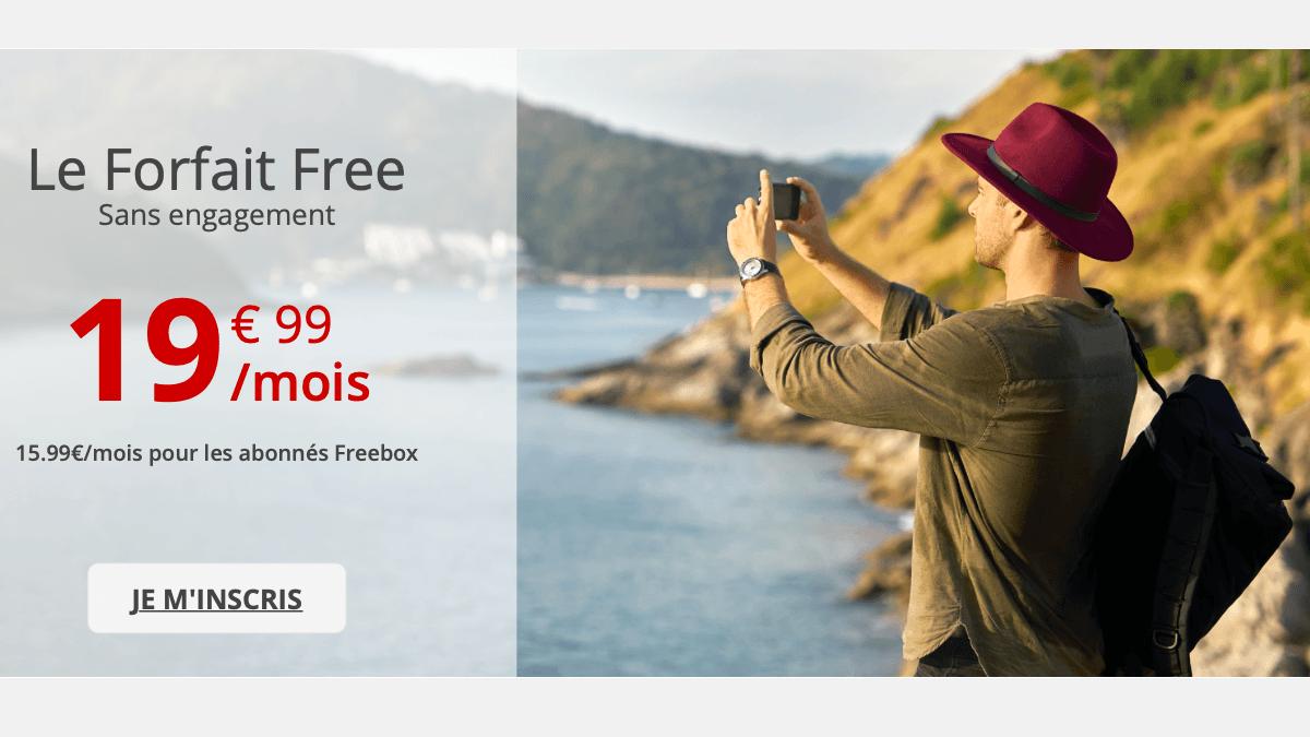 Chez Free mobile, la 4G est illimitée pour les abonnés Freebox avec le Forfait Free.