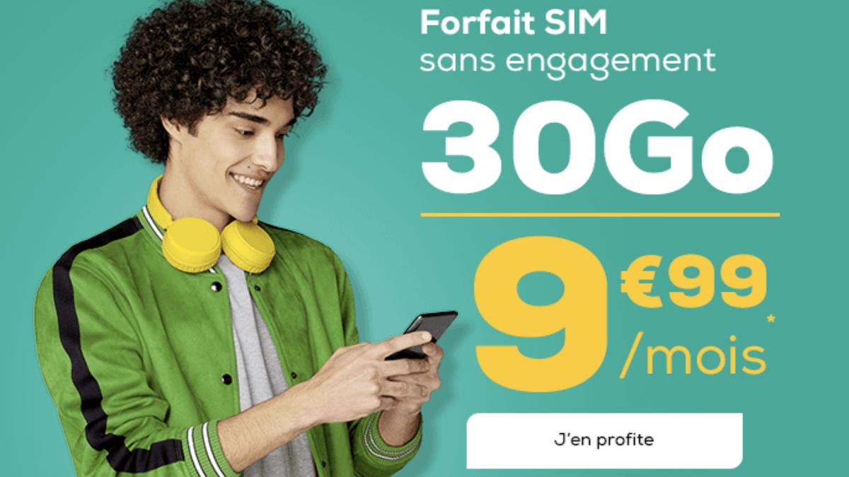 Le forfait musique en promotion de La Poste Mobile
