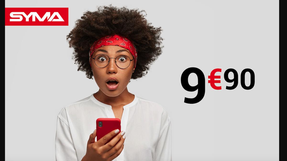 Syma Mobile affiche un forfait pas cher à 40 Go de data
